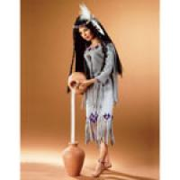 "Gift of the Blessed Rain Native American woman 17""   #71A by Jud"