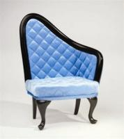 Furniture: Urban Environment French Chair (Blue/Right) (For 16""