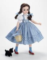 "Outfit Only: Dorothy ""Flat Chest"" 21"" Dress + Wig & Toto"