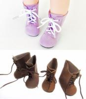 "Lace Up Boots (Purple) 72mm/39mm (18"")"