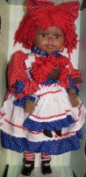 "16"" Raggedy Ann with Dolly (Caucasian)"