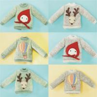 SK Couture Reindeer Sweater Outfit for Blythe Azone XS S Dal Pul