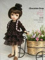 "Chocolate Drop Outfit LE10 (Fits Yo-SD/10"" Patsy/26cm)"