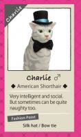 Fancy Pets Amy's Favorite Cat #1 Charlie - American Shorthair