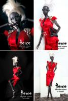 "Ficon Fierce 16"" LE30 Doll Peddlar Exclusive NRFB"