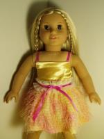 "A Special Occasion Outfit 18"" American Girl size outfit"