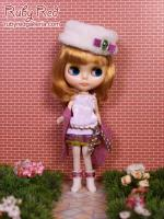 PA0050A Pullip Camellia Outfit (Fits Blythe & Momoko Too)