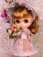 PA0051A Pullip Peach Rococo Outfit (Fits Blythe & Momoko Too)