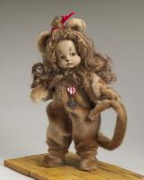 "Patsy as Cowardly Lion from Wizard of Oz 14"" <b>Outfit"