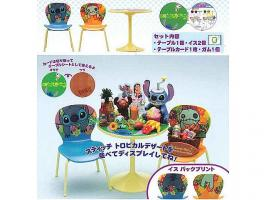 Furniture: Re-Ment Japan Exclusive Stitch Cafe Table Set