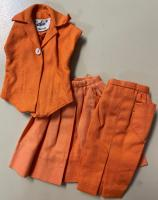 Vintage Barbie Pak Pieces (Orange)