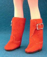 Blythe Red Boots 30mm