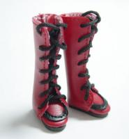 Blythe Red Boots with Black Laces 30mm