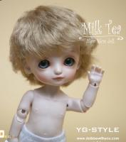 Be With You Milk Tea Baby (16cm) Lati Yellow Size! NUDE