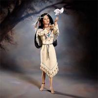 "Miracle of the Spirit Wind 17"" Native American porcelain"
