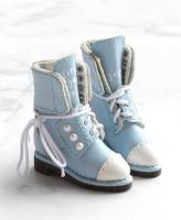 SK Pearl Ankle Boots (Blue) Fits Blythe/Pullip/Etc