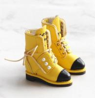 SK Pearl Ankle Boots (Yellow) Fits Blythe/Pullip/Etc